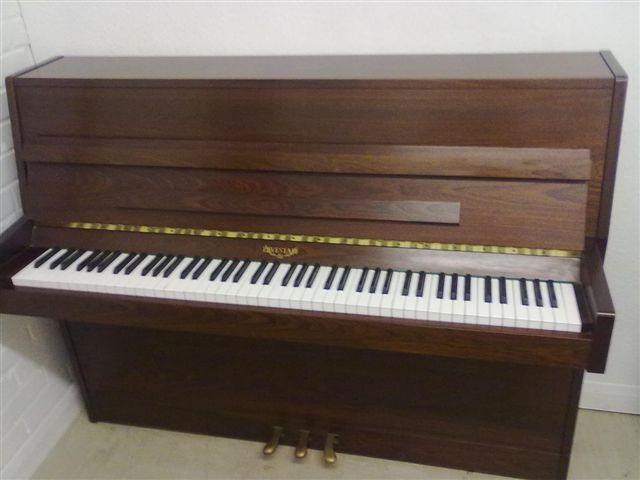Small used eavestaff upright piano for sale are you for Small upright piano dimensions