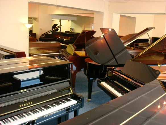 Piano gallery showrooms