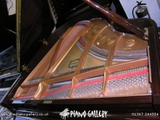 Yamaha C1LS Grand Piano Inside