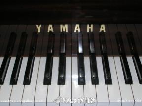 Yamaha C1LS Grand Piano Keyboard
